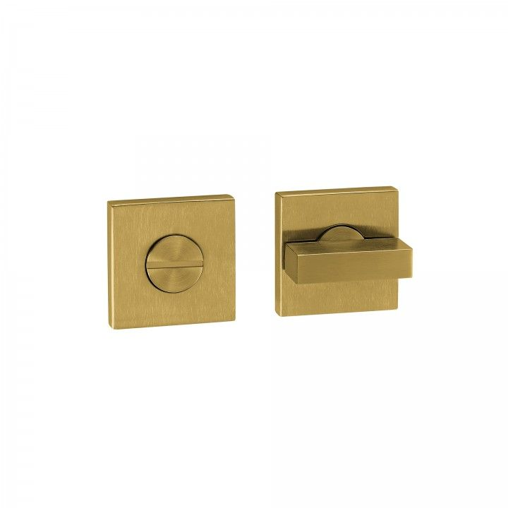 Bathroom snib indicator without color indication - Titanium Gold