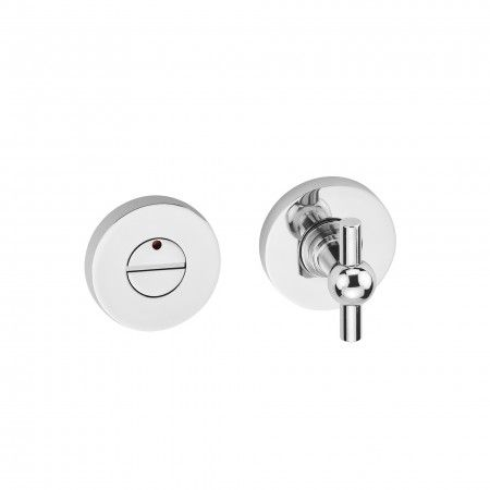 Bathroom snib indicator Train with or without color indication - Polished