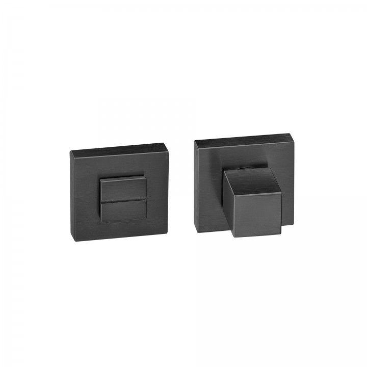 Bathroom snib Geometric Quadro - Titanium Black