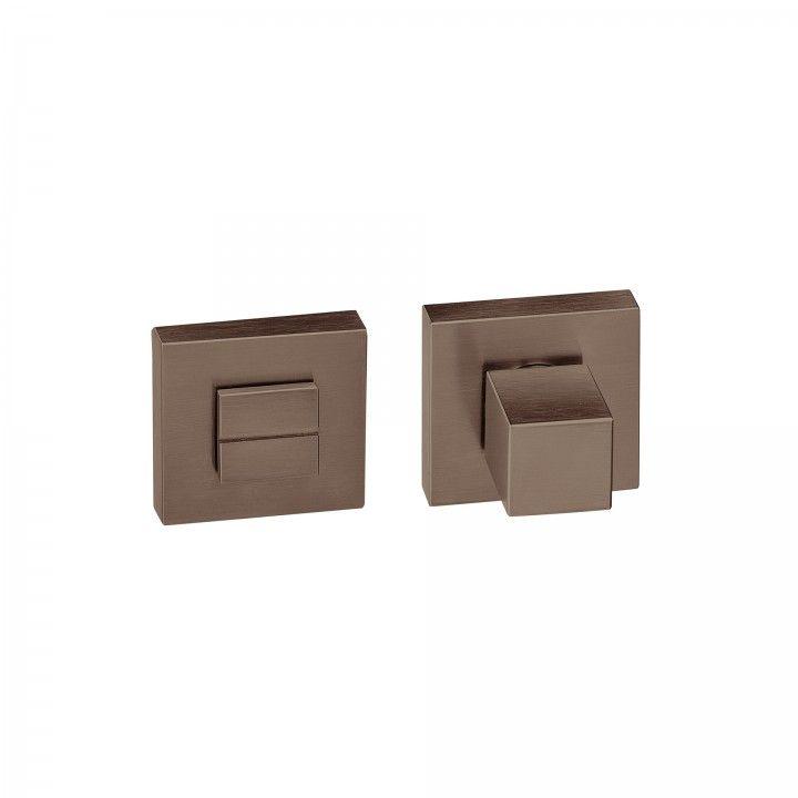 """Fecho de wc """"Quadro"""", sem indicador de cor - Titanium Chocolate"""