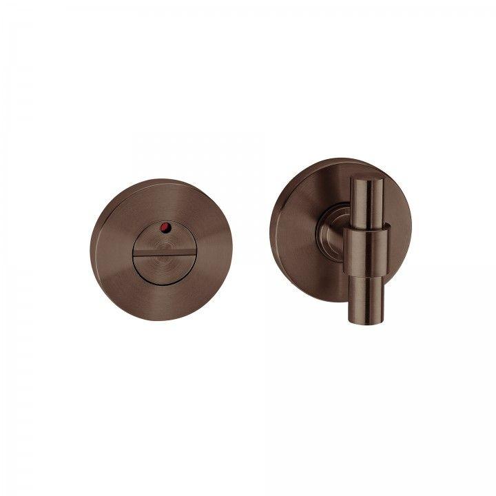 Bathroom snib indicator without color indication  - Titanium Chocolate