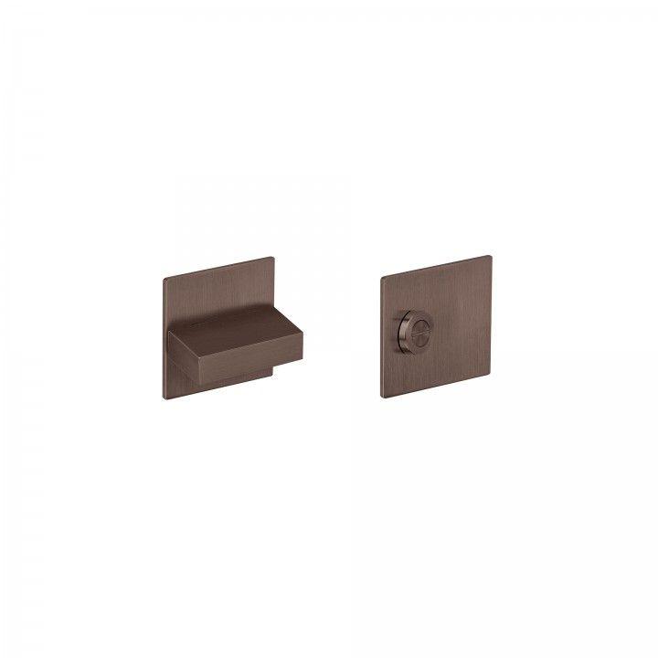 """Fecho de casa de banho SLIM - """"Titanium Chocolate"""""""