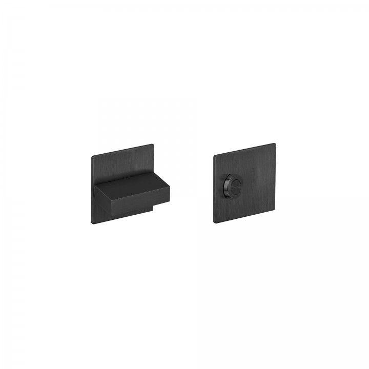 Bathroom snib indicator SLIM - Titanium Black
