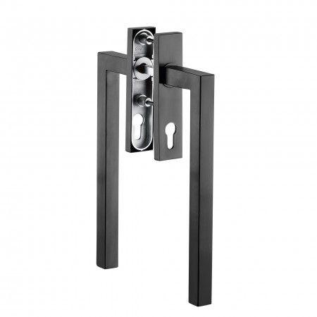 Security window mecanism for lift sliding window or door PZ - Titanium Black