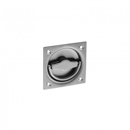 Flush handle with retractable handle