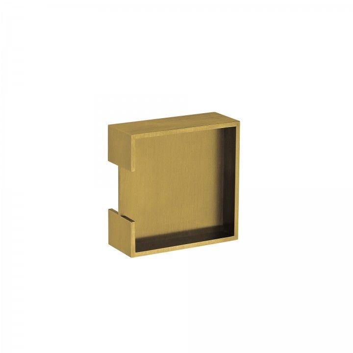 Square Flush handle - Titanium Gold