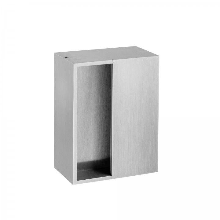 Square flush handle