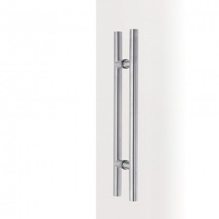 Pull handle for glass doors