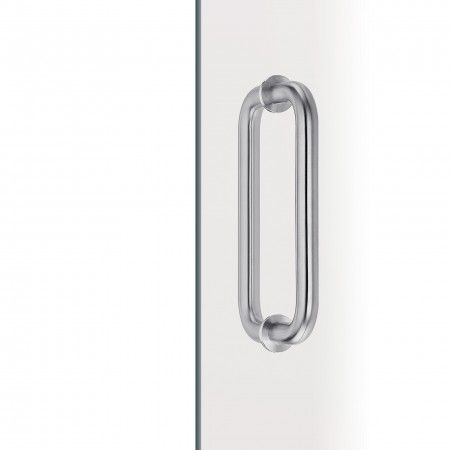 Pull handle for glass doors - Ø19mm