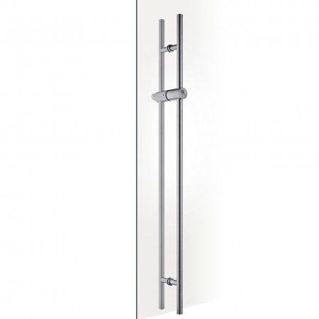 Manillon con cerradura para puertas de cristal - con bombillo JNF S20
