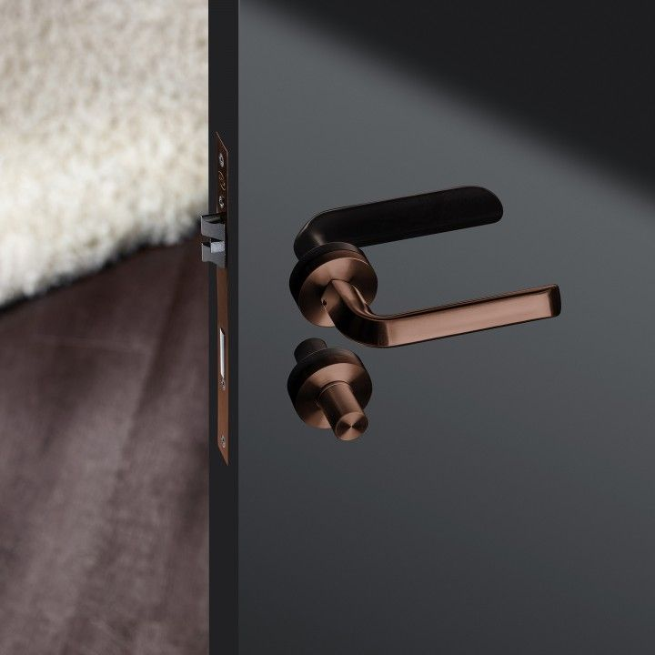 Lever handle - Titanium Copper
