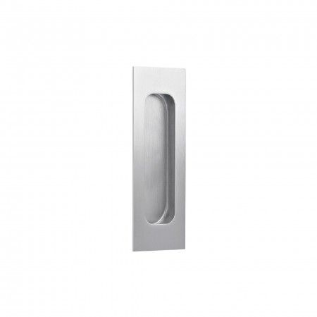Rectangular Flush handle - 120 x 40mm