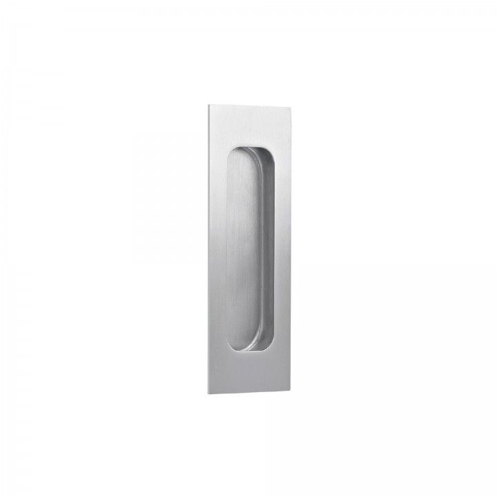 Rectangular Flush handle - 120 x 40mm