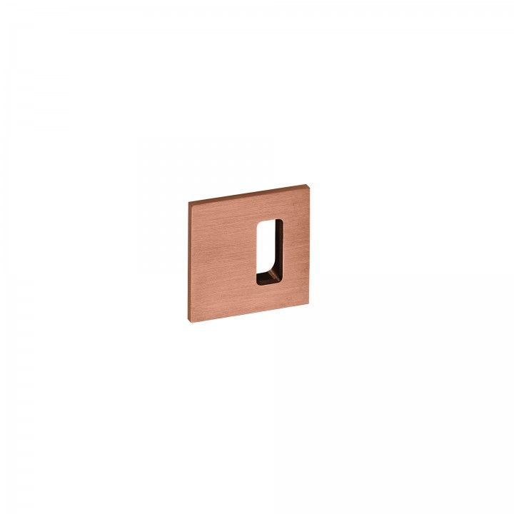 Metallic key hole for normal key Slim - Titanium Copper