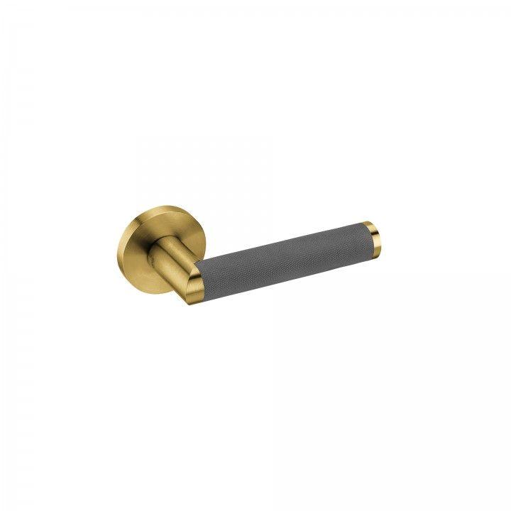 """Puxador de porta """"LINK JET""""- Titanium Gold"""