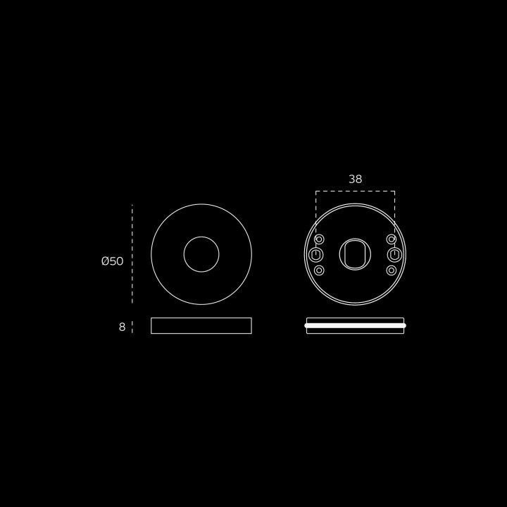 Lever handle Link Satin - Titanium Black