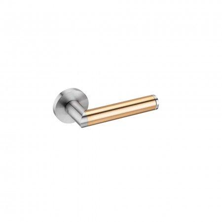 Lever handle Link Brass