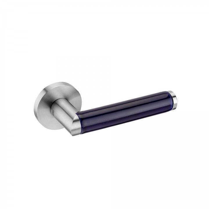 Lever handle LINK PORCELANA BLUE
