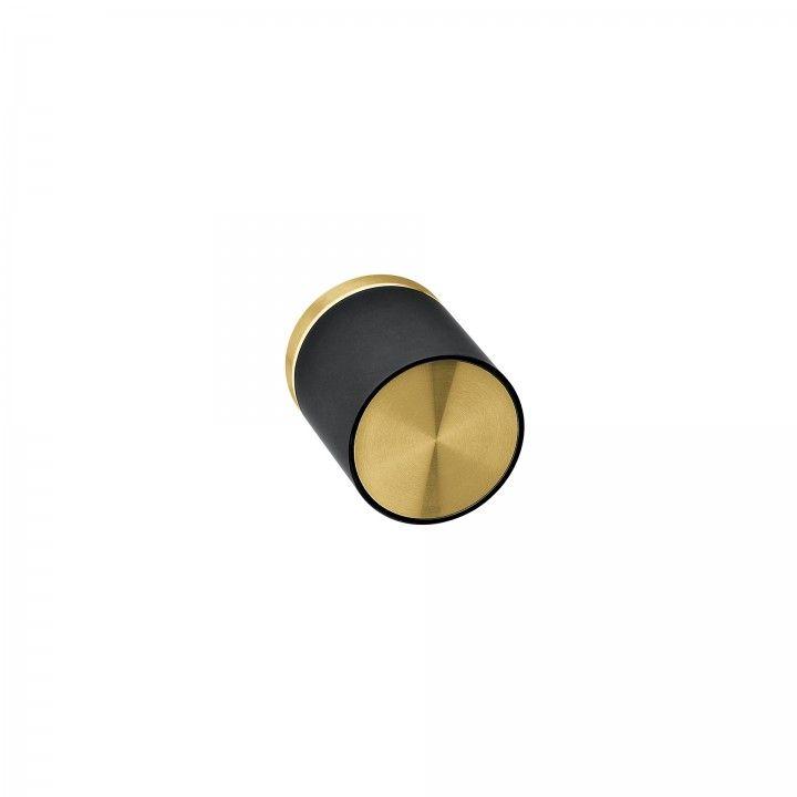 Turning knob Loft with metallic rose RC08M - Titanium Gold