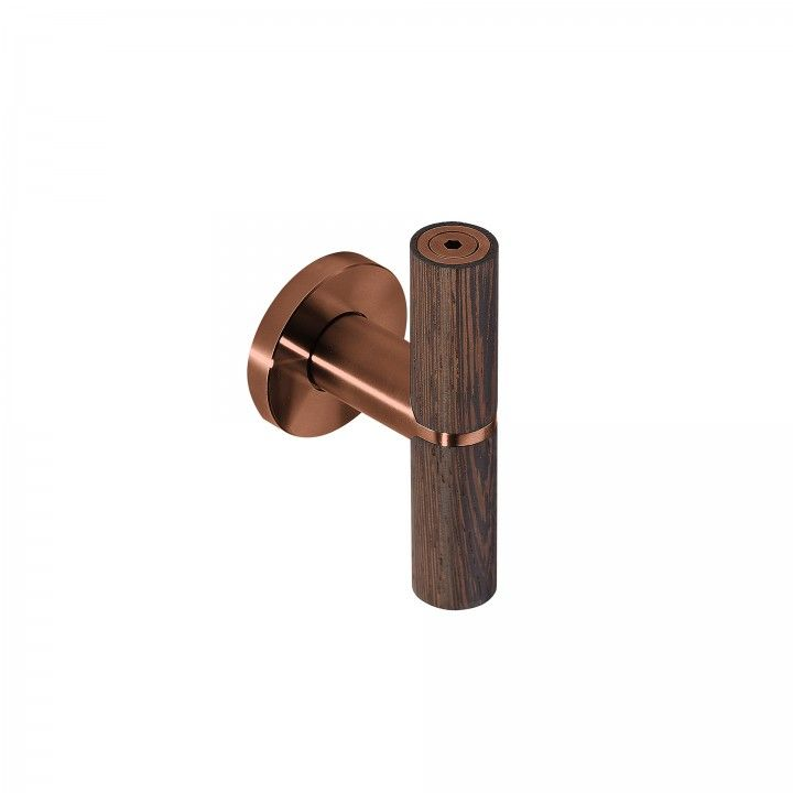"Puxador de porta ""Wenge""- Titanium Copper"