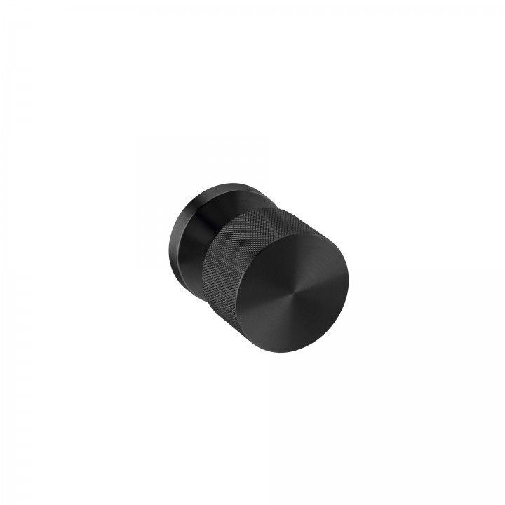 Turning Knob -  Clear Watch Simple - TITANIUM BLACK