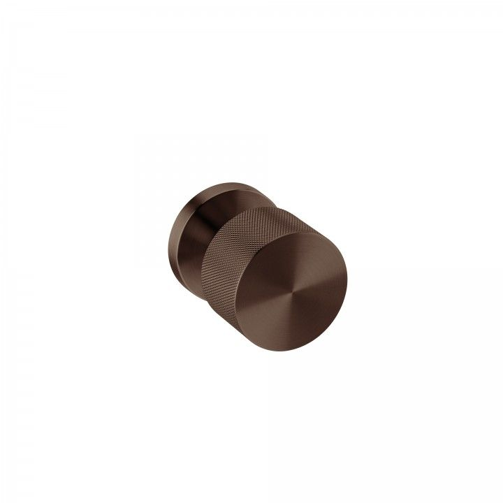 Turning Knob -  Clear Watch Simple- TITANIUM CHOCOLATE
