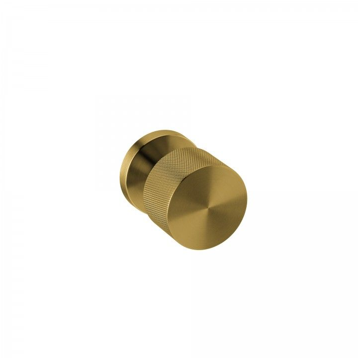 Turning Knob -  Clear Watch Simple - TITANIUM GOLD