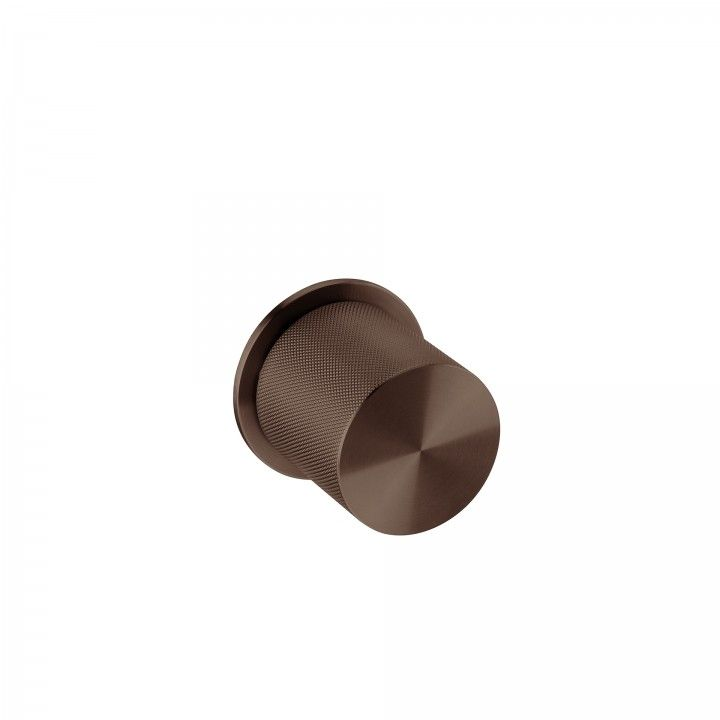 Knob with descentered movement - Clear Watch Pendular - TITANIUM CHOCOLATE