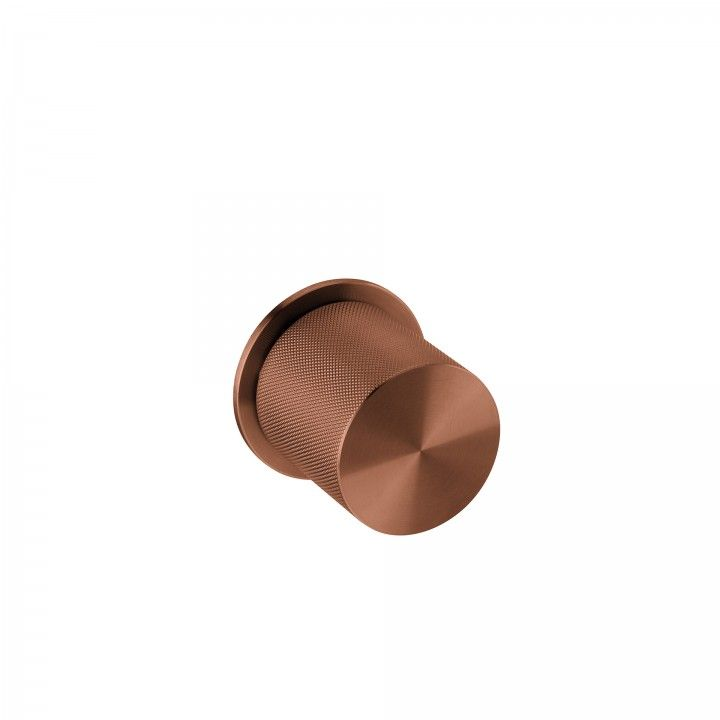 Knob with descentered movement - Clear Watch Pendular - TITANIUM COPPER