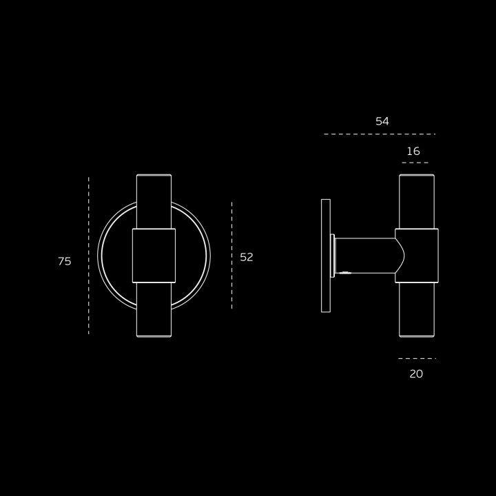 Fixed tourniquet STOUT (Ø16)