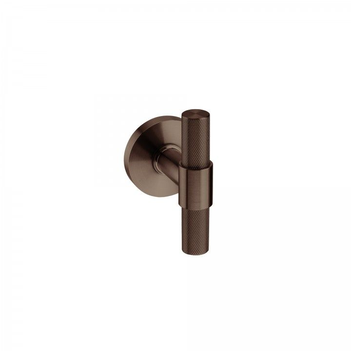 Lever handle - Titanium Chocolate
