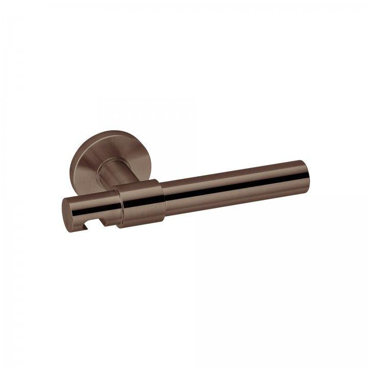 Manilla de puerta Funny Stout - RC08M - Titanium Chocolate