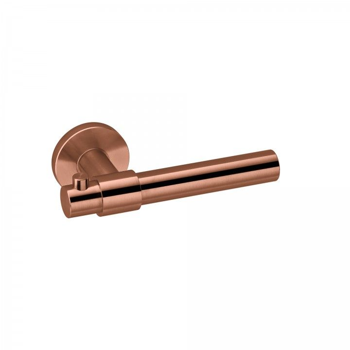 "Puxador de porta ""Funny Stout - cabide"" - Titanium Copper"