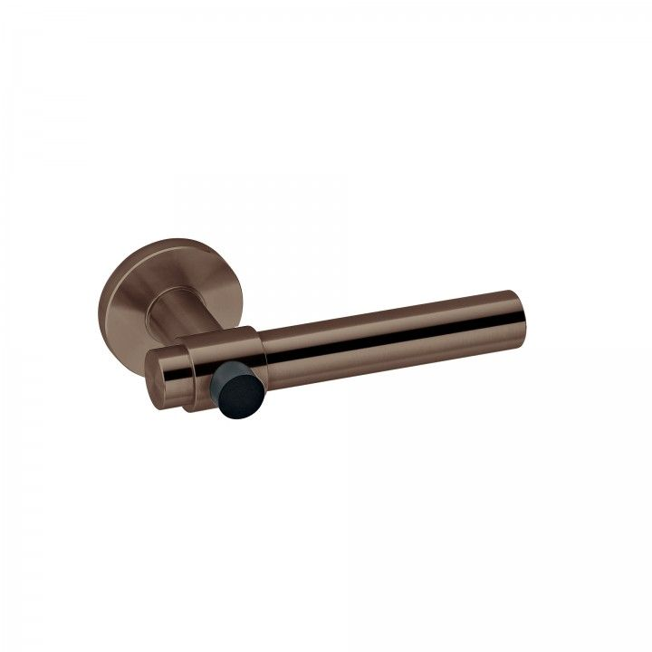 "Puxador de porta ""Funny Stout - batente"" RC08M - Titanium Chocolate"
