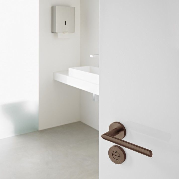 Lever handle  - Titanium Chocolate