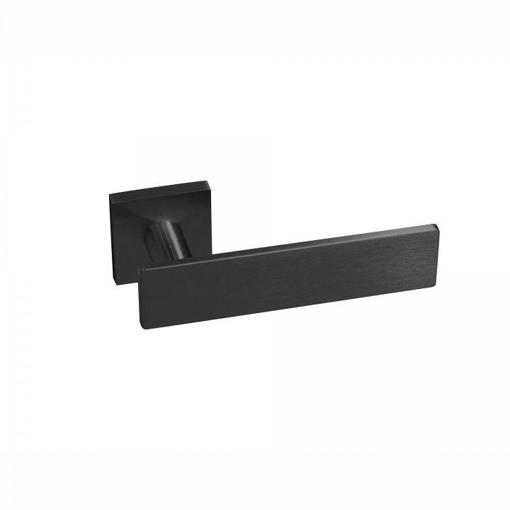 Manilla de puerta Leaf - QC08M - Titanium Black