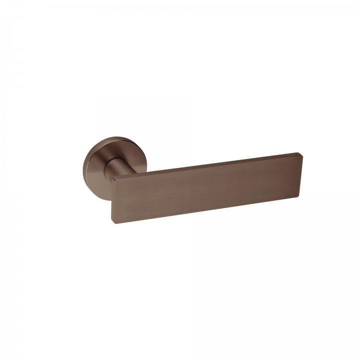 Manilla de puerta Leaf - QC08M - Titanium Chocolate