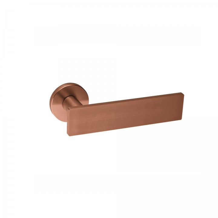 Lever handle Leaf - QC08M - Titanium Copper