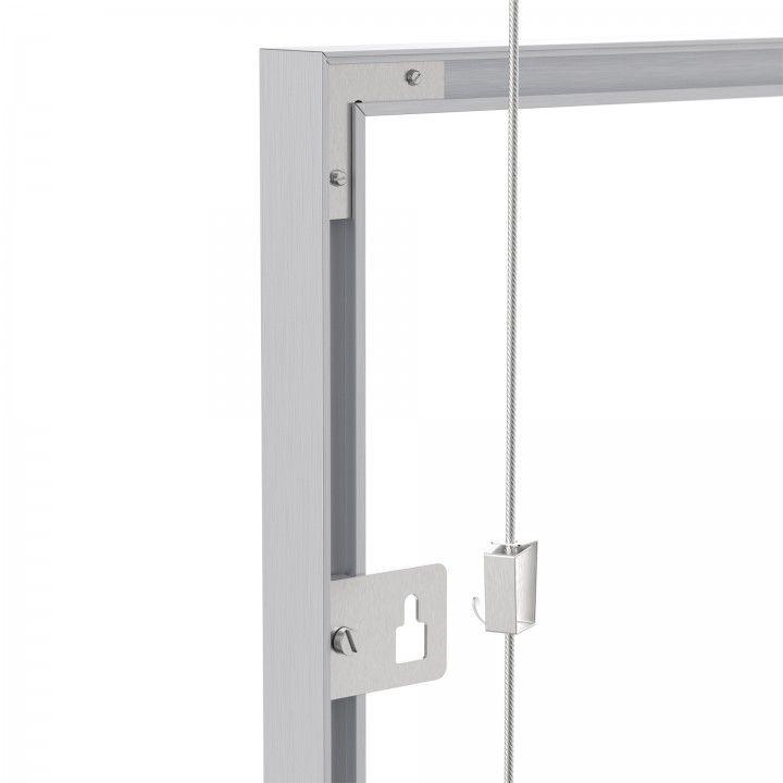 Spring hook for frame suspension system