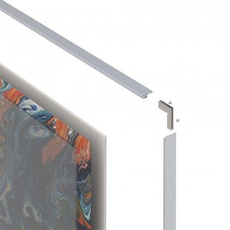 Aluminum profile for frame (3000mm)