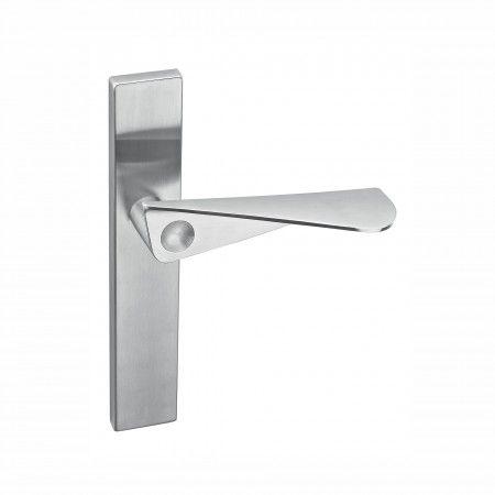 """Puxador de porta """"Paper form"""" com placa cega"""
