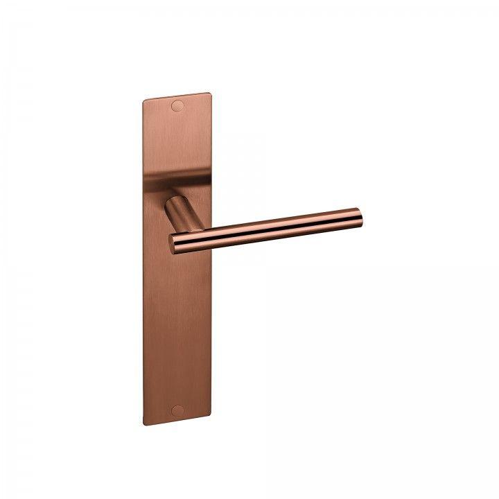 Placa con muelle - 280 x 50mm - Titanium Copper