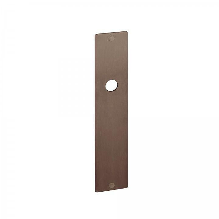 Placa con muelle - 280 x 50mm - Titanium Chocolate