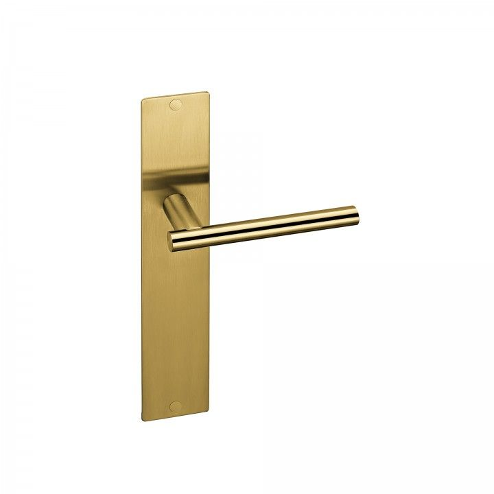 Placa com mola - 280 x 50mm - Titanium Gold