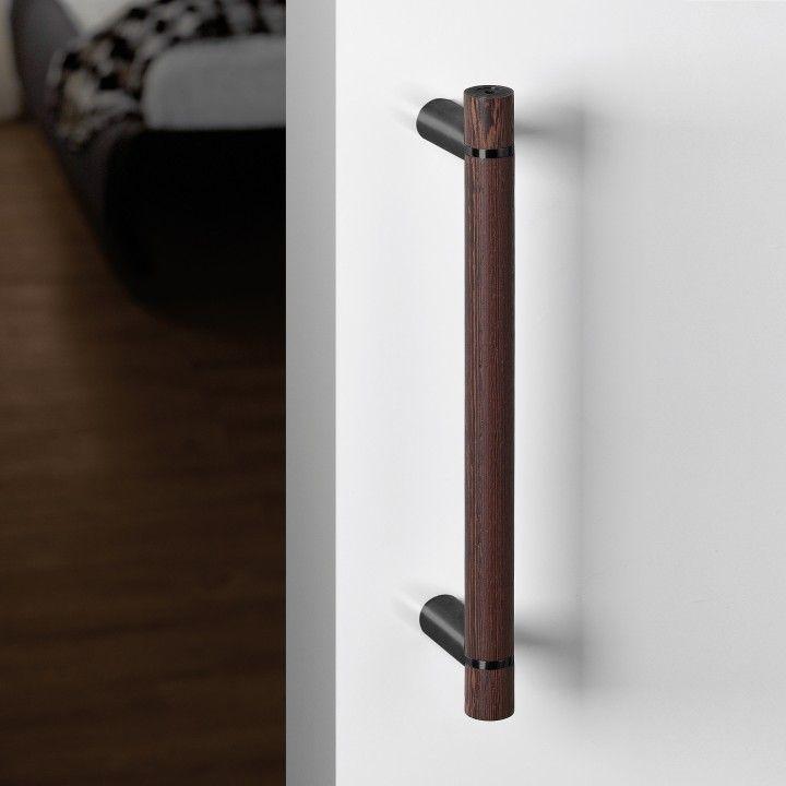 Pull handle Wengé - Titanium Black
