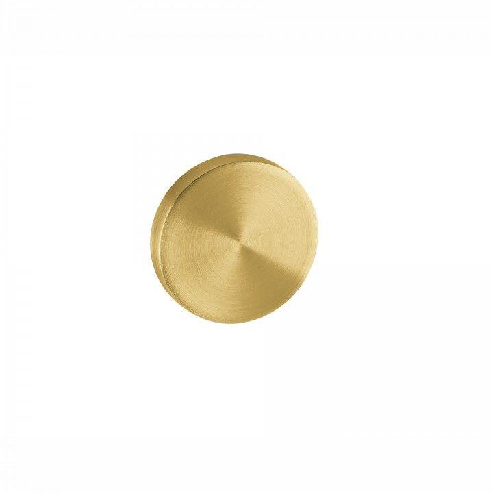 Entrada de chave cega com interior metálico - Ø50mm - TITANIUM GOLD